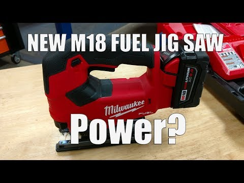 Milwaukee M18 FUEL Jig Saw Review | 2737-21 with 5.0Ah Battery