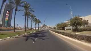 preview picture of video 'מחלף פולג עד לשושנת העמקים דרך נתניה - Poleg Interchange to Shoshanat HaAmakim via Netanya'