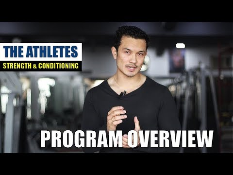 THE ATHLETES- PROGRAM OVERVIEW |Workout- Nutrition- Supplement|