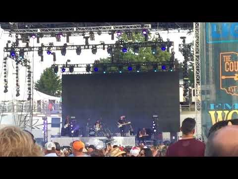 Drunk Girl, Chris Janson 6/14/18, The Country Fest Ohio