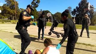 UCPD #76 Sean Aranas Violently Arrests Homeless Man in People's Park