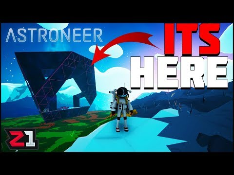 Astroneer 1.0 Full Release Ep. 1 ! New Everything, First Look at the Purple THING! | Z1 Gaming