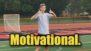 an inspirational video by a pro athlete