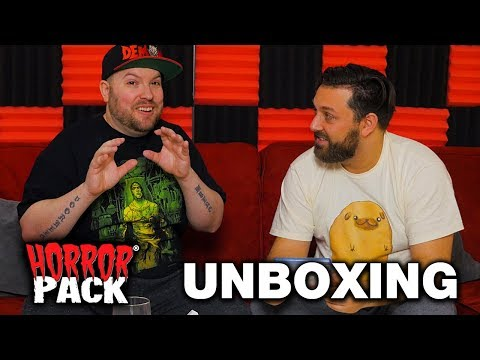 March 2019 Horror Pack Unboxing! - Horror Movie Subscription Box