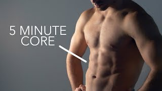 5 Minute Core Workout by Onlykinds Fitness [5 Minute Workouts]