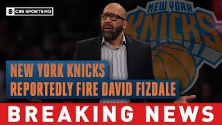 New York Knicks reportedly fire David Fizdale after 4-18 start to 2019-20 season   CBS Sports HQ