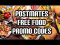 POSTMATES Free food promo codes  | run deal | 😱😱😱