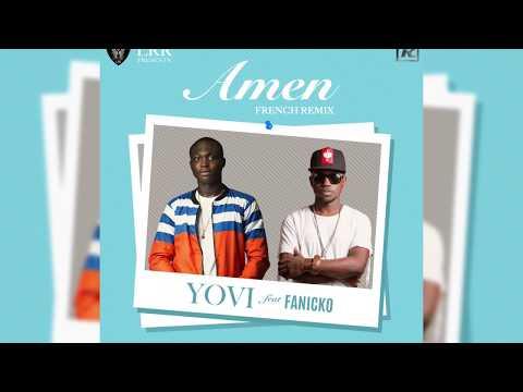 Yovi ft Fanicko - Amen (French Remix) Lyric Video