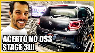 Titio ACF Fez Mágica!? ACERTO no DS3 TURBÃO STAGE 3 #pennenaAudi 👿
