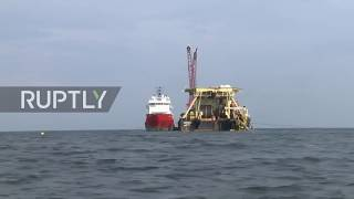 Germany: Nord Stream 2 Pipe-laying Underway Off The Baltic Coast