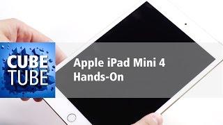 Apple iPad Mini 4 Hands On deutsch HD
