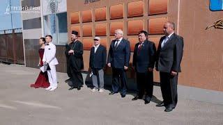 Доска почета в Михайловске на день Шпаковского района. Третий Рим, Ставропольский край