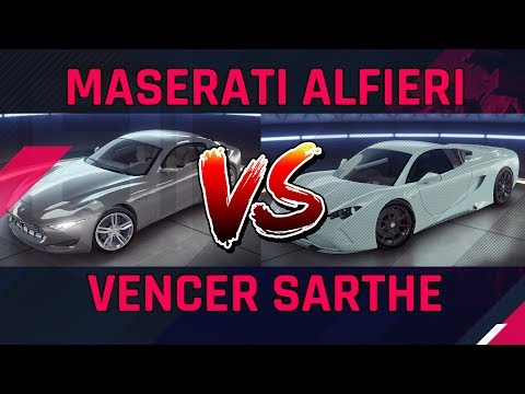Vencer Sarthe  vs  Maserati Alfieri - Clase C Kings Battle