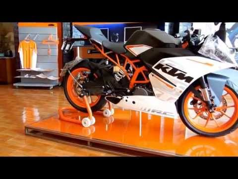 2015 KTM RC390 India LAUNCHED | Engine Sound, Startup & 360 View Walkaround
