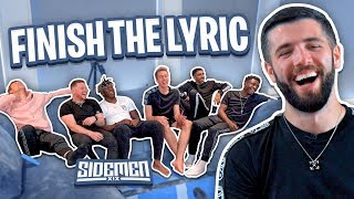 SIDEMEN FINISH THE LYRIC 3