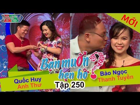 Hình ảnh Youtube -  BẠN MUỐN HẸN HÒ | Tập 250 - FULL | Quốc Huy - Anh Thư | Bảo Ngọc - Thanh Tuyền | 050317