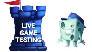 Live Game Testing Tuesday SPOILER WARNING!!!!!