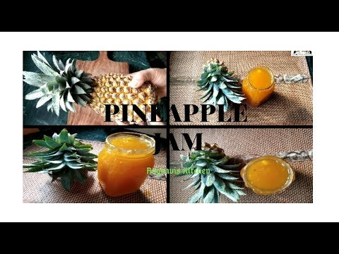 Pineapple Jam || Home made Jam || yummy jam