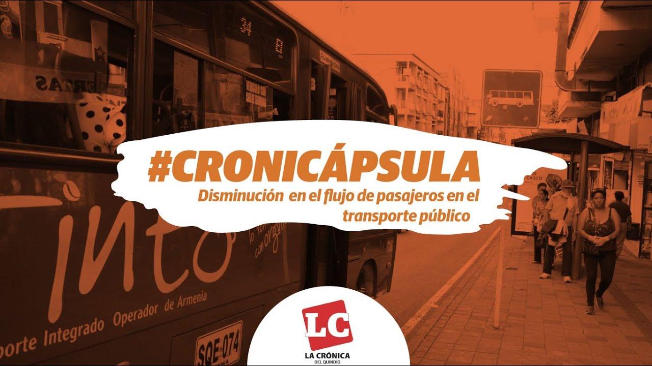 Transporte público reporta disminución del 60% en el flujo de pasajeros