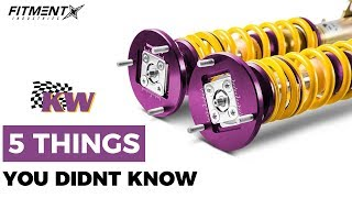 5 Things You Didn't Know About KW Suspension
