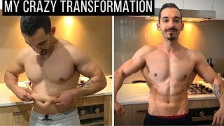 MY CRAZY 12 Week Natural Body Transformation - FROM FAT TO SHREDDED