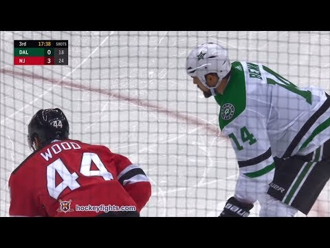 Miles Wood vs. Jamie Benn