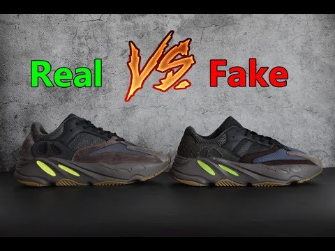 brand new a2e1f 3bf89 REAL VS FAKE YEEZY BOOST 700 Wave Runner \