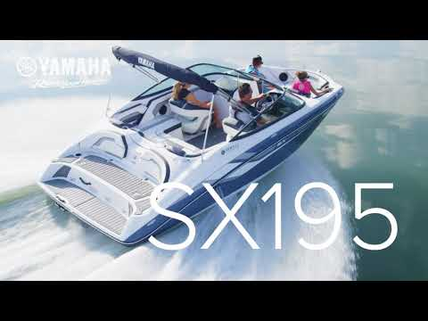 Yamaha's 2018 19-Foot Boats Featuring The 190 and 195 Series
