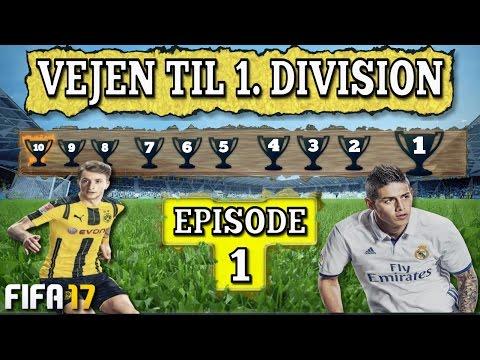 Vejen til 1. Division #1 - FIFA 17 Ultimate Team [Dansk]