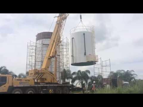 Confecção e Montagem de Reservatório Metálico - TECSAN