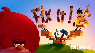 Fix It! | Angry Birds Toons   Ep 8, S 3
