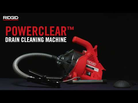 RIDGID PowerClear™ Drain Cleaning Machine