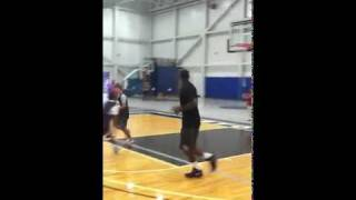 Lebron James Dunks On Kid Then Gives Him Signed Autographed Sneakers