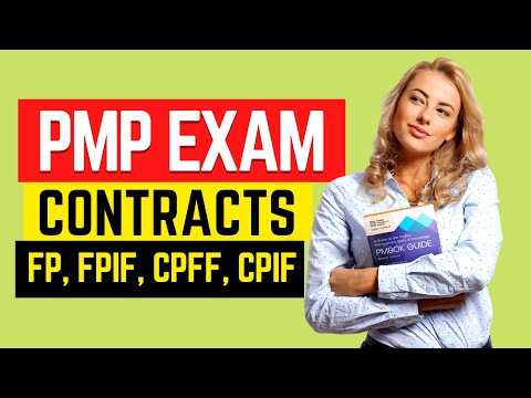 PMP Exam CONTRACT Types SIMPLIFIED - FP, CR, T&M (PMBOK ...