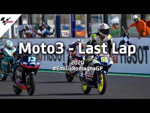 Moto3 ミサノサーキット(エミリア・ロマーニャGP)気になるシーンを集めたダイジェスト動画