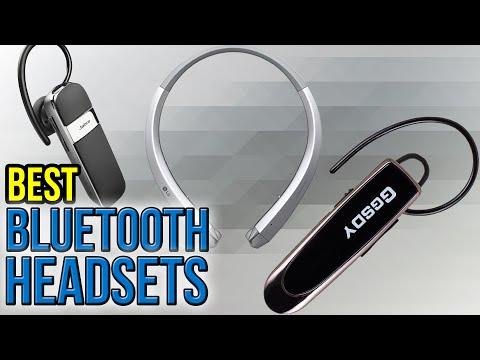10 Best Bluetooth Headsets 2017