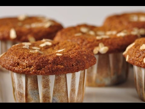 Blueberry Bran Muffins Recipe Demonstration – Joyofbaking.com
