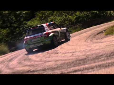 Andreas Mikkelsen takes on the Prime Yalta Rally