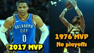 5 NBA MVPs Who Lost In The First Round (Or Missed Playoffs)