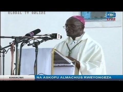 IBADA YA PASAKA - Kitaifa Kutoka KANISA la Mtakatifu GEORGE Jimbo la Kayanga