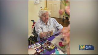 Woman asks for 100 cards for her 100th birthday, she got nearly 400