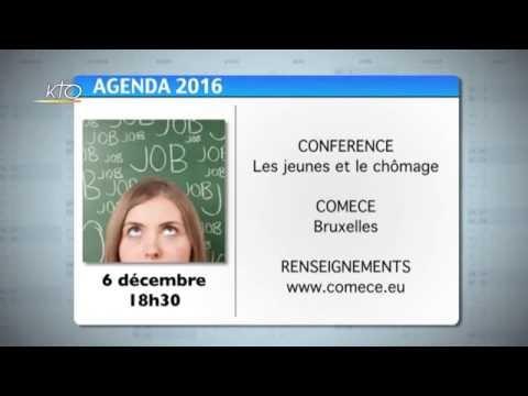Agenda du 2 décembre 2016
