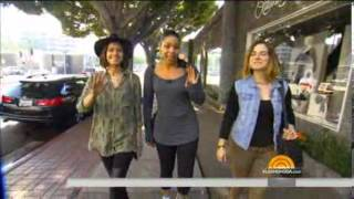 JoJo on 'The Today Show' with Jordin Sparks 'Love your Selfie' Complete