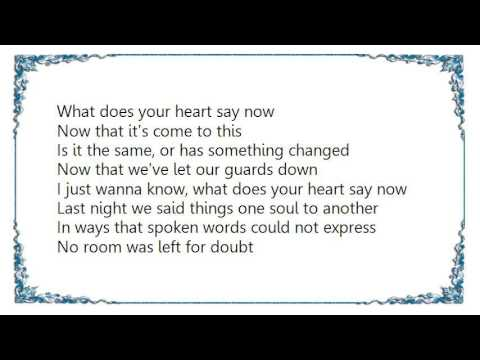 Ilse DeLange - What Does Your Heart Say Now Lyrics