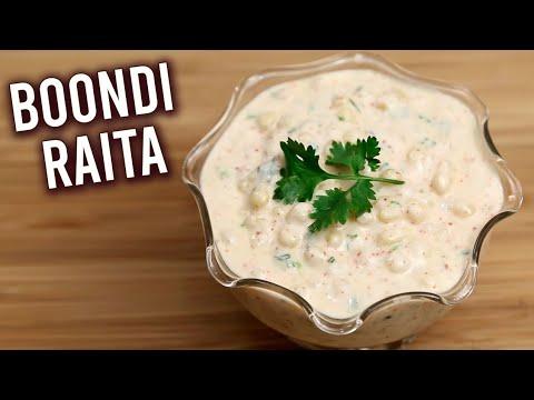 Boondi Raita | How To Make Yogurt Dip | Raita Recipe | Best Dip Recipe For Biryani | Ruchi