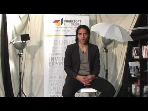 Making of photoshoot - Falcao García, promotor en Europa del turismo hacia Colombia