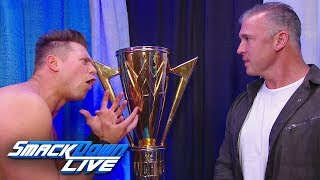 The Miz Confronts Shane McMahon: SmackDown LIVE, Nov. 27, 2018