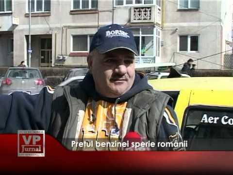 Preţul benzinei sperie românii