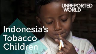 Indonesias Tobacco Children   Unreported World