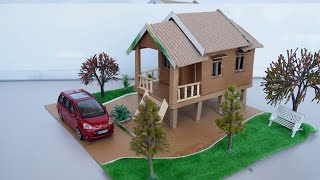 Easy Way To Build Dollhouse Out of Cardboard  2021